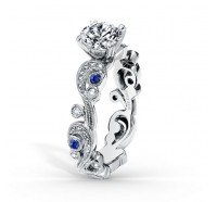 Kirk Kara  SS6967S-RS Engagement Ring