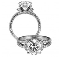 Jack Kelege  KGR1006L Engagement Ring