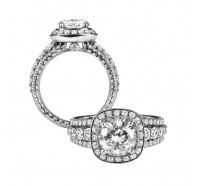 Jack Kelege  KGR1014 Engagement Ring