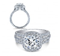 Jack Kelege  KGR1021 Engagement Ring