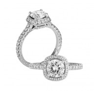 Jack Kelege  KGR1036 Engagement Ring