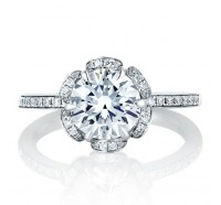 A.JAFFE ME1622 Engagement Ring
