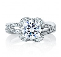 A.JAFFE ME1623 Engagement Ring