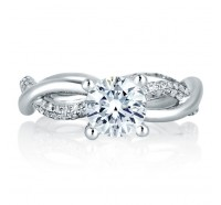 A.JAFFE ME1637 Engagement Ring