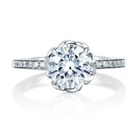 A.JAFFE ME1640 Engagement Ring