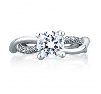 A.JAFFE ME1647 Engagement Ring