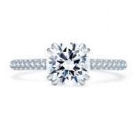 A.JAFFE ME1841Q Engagement Ring