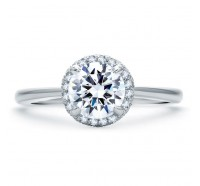 A.JAFFE ME1843Q Engagement Ring