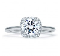 A.JAFFE ME1844Q Engagement Ring