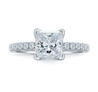A.JAFFE ME1852Q Engagement Ring