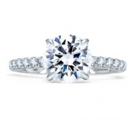 A.JAFFE ME1853Q Engagement Ring