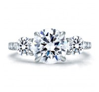 A.JAFFE ME1854Q Engagement Ring