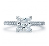 A.JAFFE ME1855Q Engagement Ring