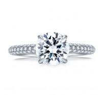 A.JAFFE ME1856Q Engagement Ring