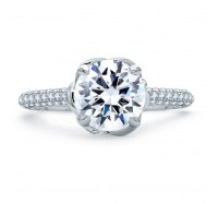 A.JAFFE ME1858Q Engagement Ring