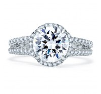 A.JAFFE ME1861Q Engagement Ring