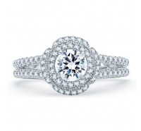 A.JAFFE ME1862Q Engagement Ring
