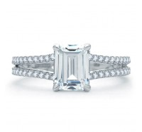 A.JAFFE ME1863Q Engagement Ring