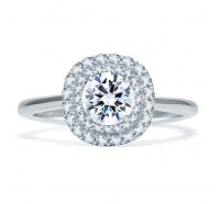 A.JAFFE ME1864Q Engagement Ring