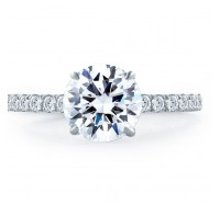 A.JAFFE ME1865Q Engagement Ring