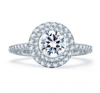 A.JAFFE ME1866Q Engagement Ring