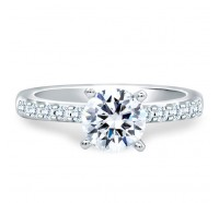 A.JAFFE MES078 Engagement Ring