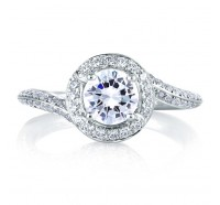 A.JAFFE MES322 Engagement Ring
