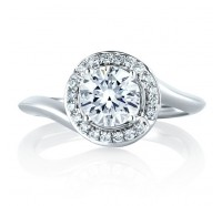 A.JAFFE MES374 Engagement Ring