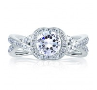 A.JAFFE MES410 Engagement Ring