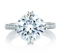 A.JAFFE MES421 Engagement Ring