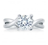 A.JAFFE MES463 Engagement Ring