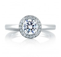 A.JAFFE MES473 Engagement Ring