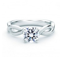 A.JAFFE MES527 Engagement Ring
