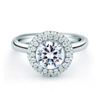 A.JAFFE MES530 Engagement Ring