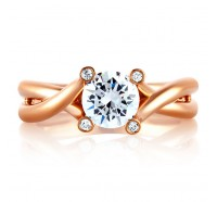 A.JAFFE MES592 Engagement Ring