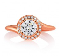 A.JAFFE MES593 Engagement Ring