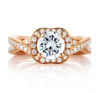 A.JAFFE MES594 Engagement Ring
