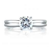 A.JAFFE MES603 Engagement Ring
