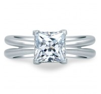 A.JAFFE MES676 Engagement Ring