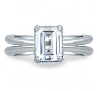 A.JAFFE MES677 Engagement Ring