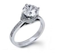 Simon G  DR132 Engagement Ring