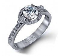 Simon G  DR155 Engagement Ring