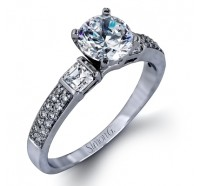 Simon G  DR191 Engagement Ring