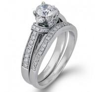 Simon G  DR223B Wedding Ring