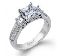 Simon G  DR239 Engagement Ring