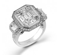 Simon G  LP2068A Wedding Ring