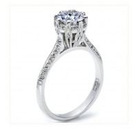 Tacori Simply Tacori 2504RDP Engagement Ring