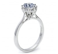 Tacori Simply Tacori 2504RD Engagement Ring