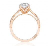 Tacori Pretty In Pink 2565MDRDPK Engagement Ring