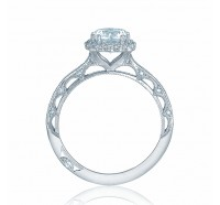 Tacori Reverse Crescent 2618CU Engagement Ring